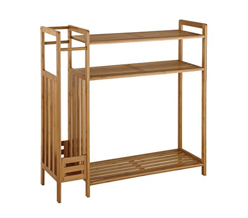 Organize It All 2983W1P Shoe Rack with Umbrella Stand