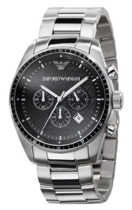 Emporio Armani Men's AR0585 Classic Stainless steel Watch