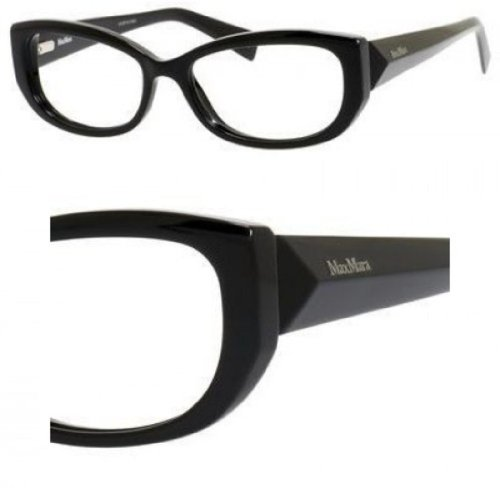 Max Mara MAX MARA Eyeglasses 1194 029A Shiny Black 53MM