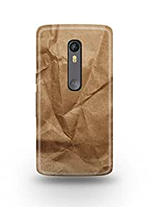 Crushed Brown Paper Moto X Style Case