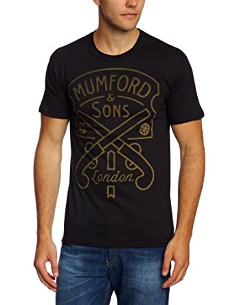 Bravado T-shirt Imprimé musique et film Homme - Noir - Noir - FR : Small