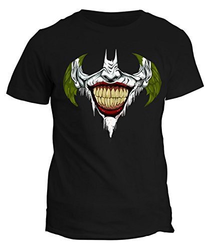 Tshirt Joker Smile Batman - humor - in cotone by Fashwork