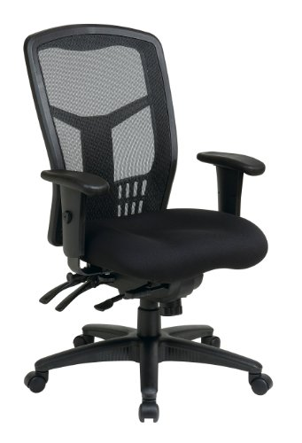Proline II ProGrid High Back Chair, Black