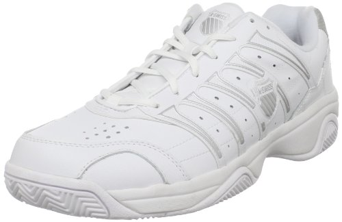 Kswiss Men's Grancourt 2 white/silver Tennis Shoe 02648-155-M 9 UK