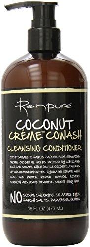 Renpure Coconut Creme Cowash Cleansing Conditioner, 16 Ounce (Cleansing Conditioner compare prices)