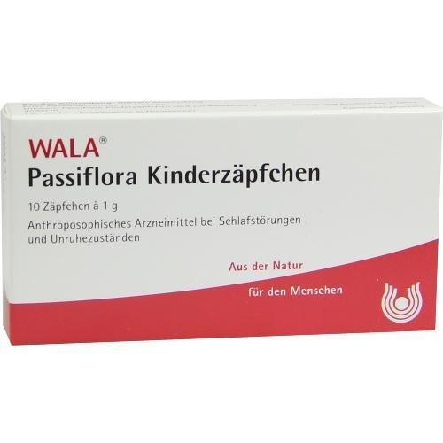 PASSIFLORA KINDERZAEPFCHEN 10X1g Kinder-Suppositorien PZN:1448429