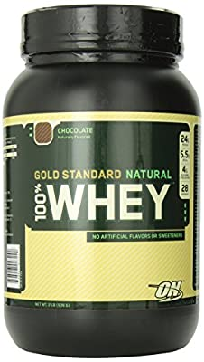 Optimum Nutrition 100% Whey Gold Standard (Natural) Chocolate-2 Pound(Pack of 2)