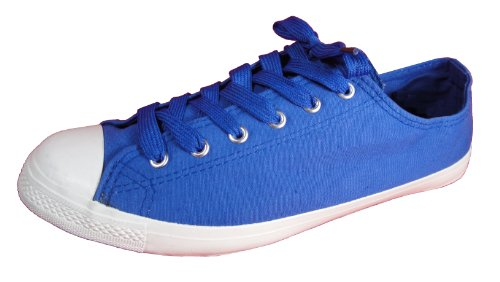 Andres Machado Women's BLUE Canvas Last Generation Tennis Big Size Shoes