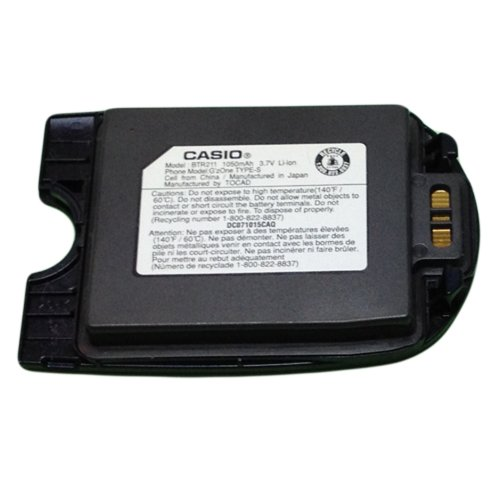 VERIZON CASIO G'ZONE TYPE-S BTR211 OEM STANDARD BATTERY Audiovox G'zOne, Type-S