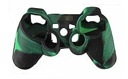 Hytech Plus Playstation 3 Controller Skin Green Black