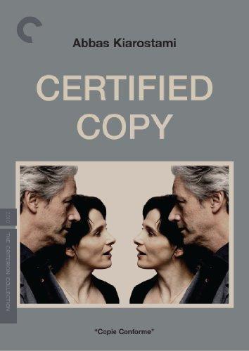 Certified Copy (Criterion Collection) By Juliette Binoche