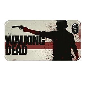 Hairyworm- The Walking Dead iphone 5, 5s Harte hintere Kunststoff-Schutzhülle für das Handy