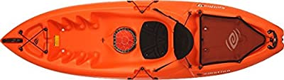 90247 Emotion Spitfire Sit-On-Top Kayak, Orange, 9' from Lifetime OUTDOORS