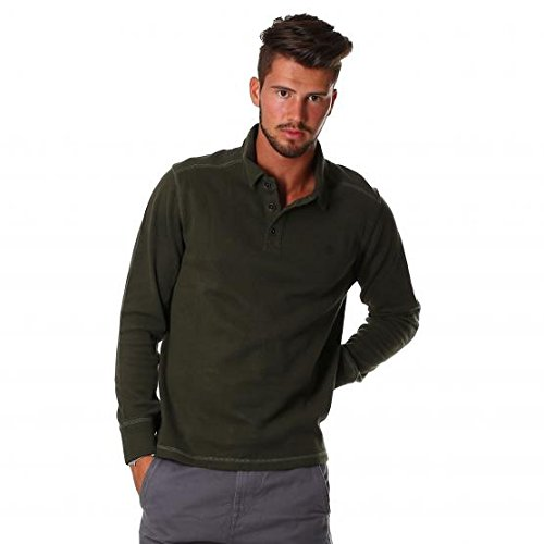TIMBERLAND LS CANOE RIVER POLO 768 FOREST NIGHT UOMO S