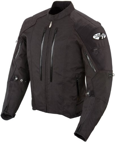 Joe Rocket Atomic 4.0 Men`s Riding Jacket (Black, X-Large)