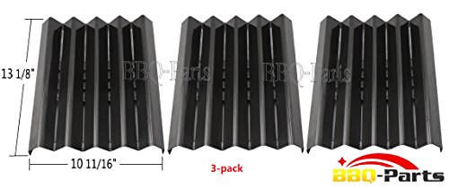 "97061 (3-Pack) Porcelain Steel Heat Plate Replacement For Select Kenmore Gas Grill Models (13 1/8""×10 11/16"")"
