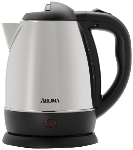 sale aroma 1 2 liter 5 cup cordless electric water. Black Bedroom Furniture Sets. Home Design Ideas