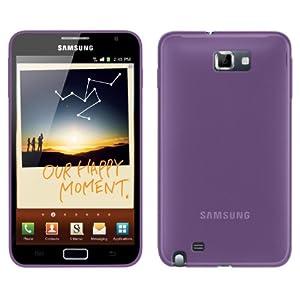 FoneM8 - Samsung Galaxy Note Purple Gel Skin Case Cover