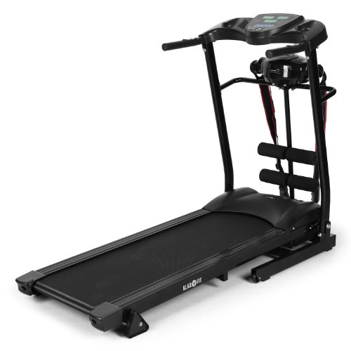 Klarfit Treado Advanced tapis roulant massaggiante nero