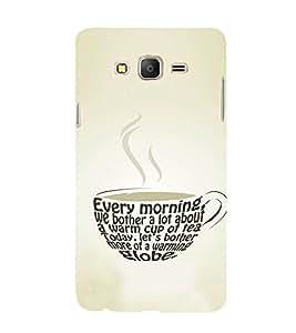 EPICCASE Cuppa Coffee Mobile Back Case Cover For Samsung Galaxy E7 (Designer Case)
