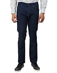 Oxemberg Slim Fit Men's Dark Blue Denim
