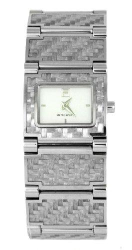 Fila 507475 - Reloj de mujer de cuarzo, correa de acero inoxidable color plata