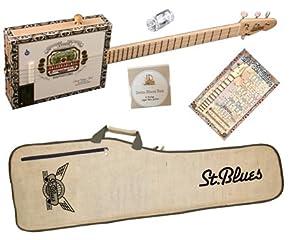 Amazon.com: St. Blues Cigar Box Guitar Bundle (Arturo Fuente): Musical