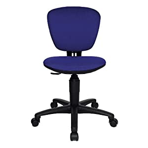Kids Office Chair Swivel Chair HIGH KID Black Blue Kitchen Am