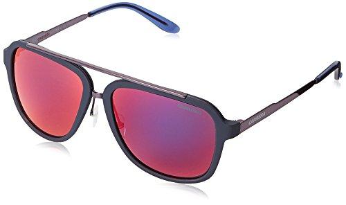 Carrera CA97S Aviator Sunglasses, Blue & Gray Infrared, 57 mm (Sunglasses Carrera Blue compare prices)