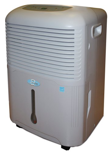 PerfectAire PA50 50 Pints/Day Dehumidifier, Coverage 3000 Sq Ft