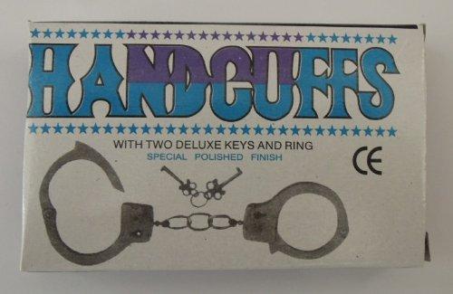 Dazzling Toys Metal Double Lock Handcuffs W/keys (D044)