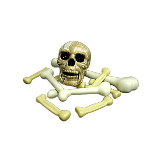 Halloween Decorations Skulls With Sound And Glowing front-744260