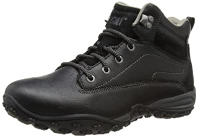 """Amazon.com: Caterpillar Avail Mens Leather 6"""" Boots - Black: Shoes"""