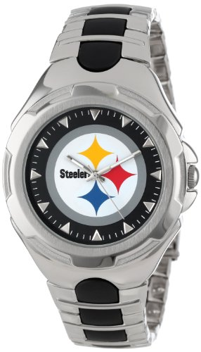 PITTSBURGH STEELERS GAME TIME MENS VICTORY SERIES WRIST WATCH # 10000765