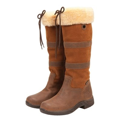 Dublin Ladies Eskimo River Fleece Boots - Size:09.5 Color:Chocolate