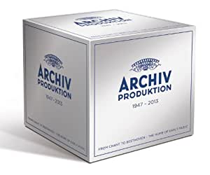Archiv Produktion 1947-2013: A Celebration of Artistic Excellence from the Home of Early Music (DG box set)
