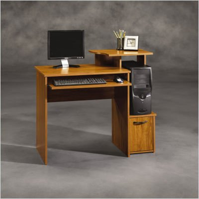 100 beginnings computer desk cinnamon cherry sauder beginni