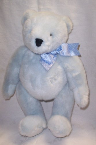 Blue Teddy Bear By North American Bear Co.