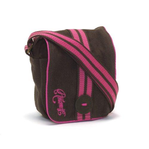 Animal Womens Cross Body Hip Bag Small - Pipa Brown Pink