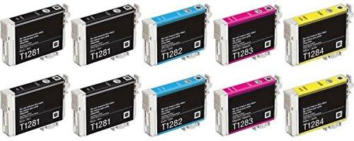 CARTUCCE KIT 10 PZ STAMPANTE MULTIFUNZIONE EPSON STYLUS VARI MODELLI COMPATIBILI Tepa print TP-T128x-10