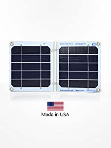 Suntactics sCharger-5 Portable Solar Charger, Light Weight, Waterproof, Durable, Auto-Retry, 1000 mA for iPhone, iPad, Samsung and other Devices