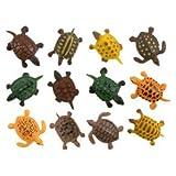 "Turtles (approximately 1.5""-2"" long - size varies), 12PK"