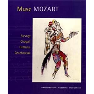 Muse Mozart. Bühnenbild - Illustrationen - Interpretationen