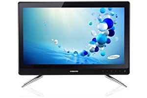 Samsung All-in-One PC Serie 5 500A2D S02 54,6cm (21,5 Zoll) Desktop-PC (Intel Core i3-3220T, 2,8GHz, 8GB RAM, 1 TB HDD, NV GT 620M, DVD, Touchscreen, Win 8) schwarz
