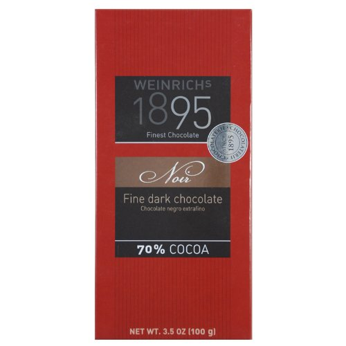 70% Fine Dark Chocolate, 100g