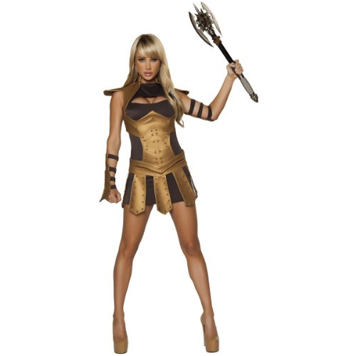 Sexy Warrior Woman Costume - Large - Dress Size 8