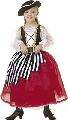 Pretty Pirate Costume Dress (Hat, stockings & shoes not included)