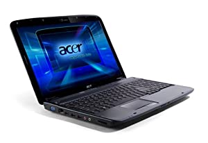 Acer Aspire 5735 15.6-inch Laptop, Intel Core 2 Duo T5800, Vista Home Basic, 3GB RAM, 160GB HDD