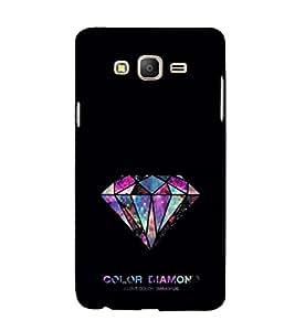 EPICCASE Color Diamond Mobile Back Case Cover For Samsung Galaxy E7 (Designer Case)