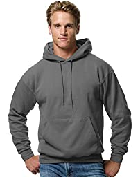Hanes Comfort Blend EcoSmart Men`s Pullover Hoodie Sweatshirt Medium Smoke Grey